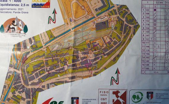 Prova ME campionati italiani sprint a Feltre