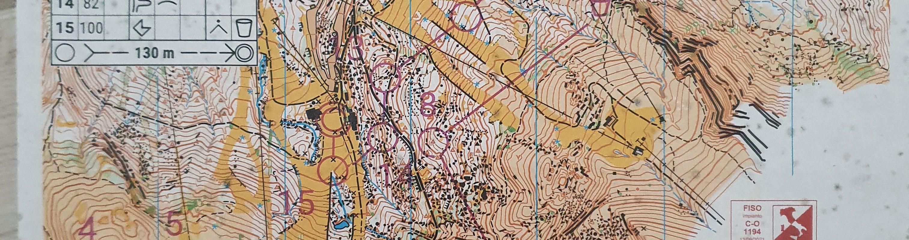 Mappa Corno alle Scale