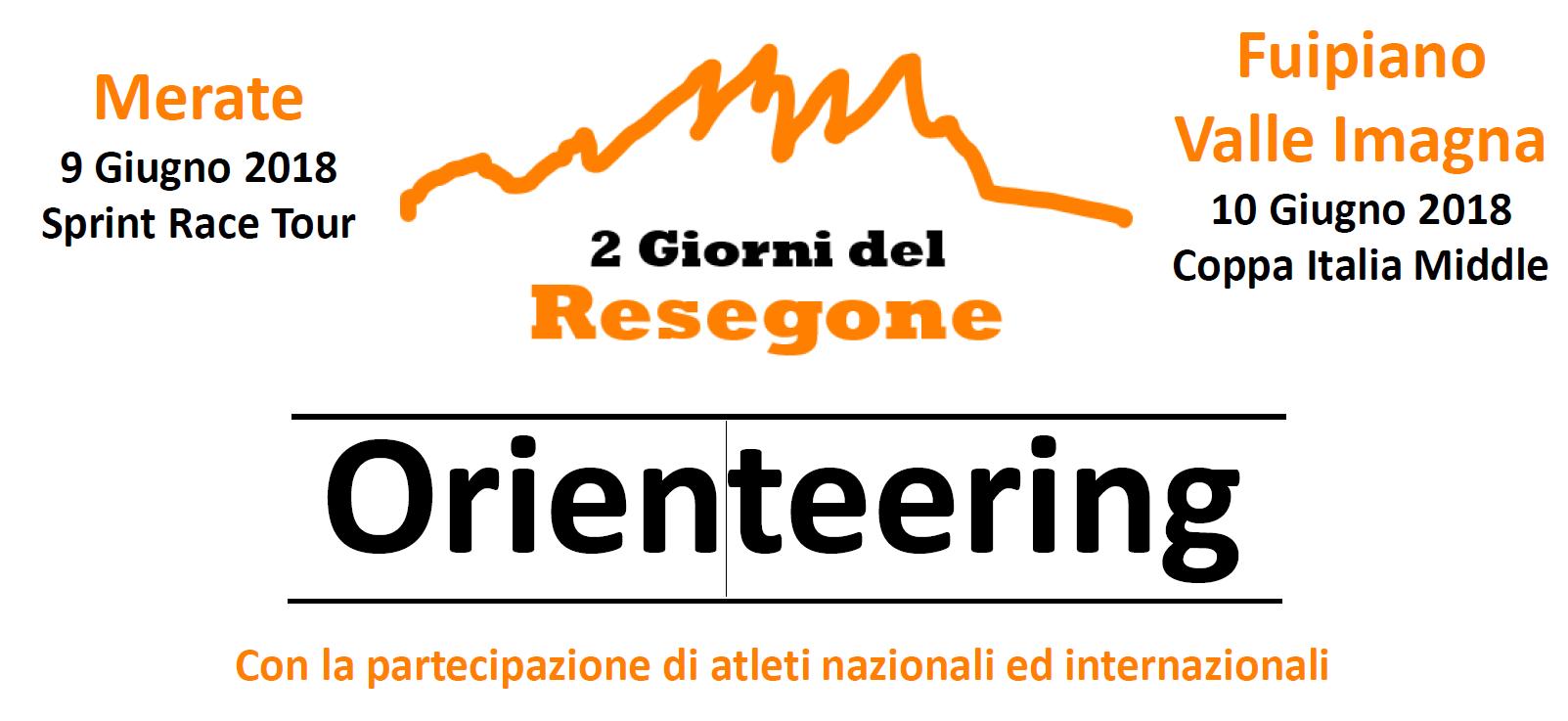Logo 2 Giorni del Resegone -  Orienteering